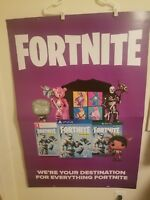 Fortnite Promo Poster From Gamestop, 33x48