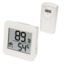 Wireless Humidity/Temperature Monitor Set