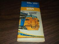 JUNE 1981 VIA RAIL CANADA SYSTEM PUBLIC TIMETABLE