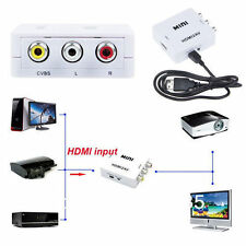 HDMI to AV CVBS Video Audio Signal Converter Adapter For TV VHS VCR DVD Best2