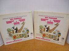 1967 Original Motion Picture Soundtrack of Doctor Dolittle, Set of 2 Albums