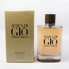 Acqua Di Gio Absolu By Giorgio Armani Edp for Men 4.2 oz - 125 ml *New In Box*