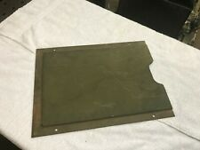 Orig Paint WW2 Ford GPW GPA Willys MB Army Jeep Lube Chart Holder Slat Grill GP