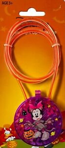 Halloween Minnie Mouse Safety Light Up Necklace Ages 3+