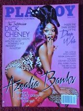 Playboy Magazine Apr 2015 ~ Azealia Banks Nude + Alexandra Tyler Centerfold