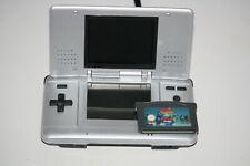 Nintendo DS Platinum Silber Handheld-Spielkonsole mit Kultspiel TETRIS World