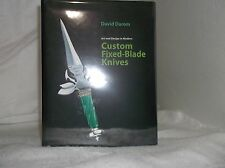 Art and Design in Modern Custom Fixed-Blade Knives...H/C DJ FREE SHIPPING 1ST ED