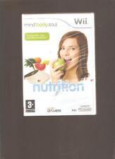 Rare !!! NUTRITION : Un Jeu Indispensable sur  Wii/WiiU : Jeu NEUF Blister