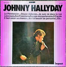 33t Johnny Hallyday - Le pénitencier - Impact (LP)