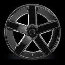 """24"""" Dub Wheels Baller S216 Gloss Black CONCAVE Rims Escalade Yukon Silverado 26"""