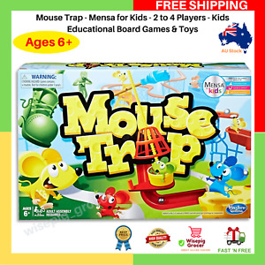 Mouse Trap - Mensa For Kids - 2 To 4 Players - Kids Educational Board Games NEW