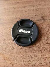 LC-62 Centre Pinch lens cap for Nikon Lenses fit 62mm filter thread - UK SELLER