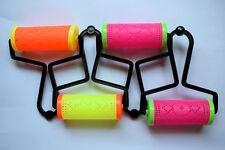 Set Of 4 Rangoli Making Roller Coloring Tool Designing Instrument