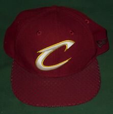 New New Era NBA Cleveland Cavaliers Snapback Hat intented Stars on Flap - OSFM