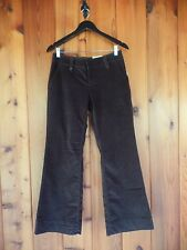 New Sonoma Low Rise Stretch Cordoroy Trousers 6 Petite Modern Fit $44