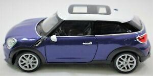 MINI COOPER S PACEMAN DIE-CAST METAL 1:24 SCALE MODEL CAR