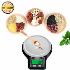 3/5/10kg Black Digital LCD Electronic Kitchen Cooking Food Weighing Scales UK