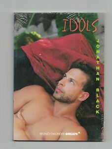 Photography Book / Jonathan BLACK / Idols / Male Nudes, softcover