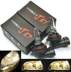 Halogen 9006 HB4 55W 3800K Stock Two Bulbs Fog Light Replacement Upgrade Lamp