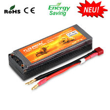 FLOUREON 7.4V 2S 7000mAh 60C Deans Plug Batterie Akku für RC Auto Hubschrauber