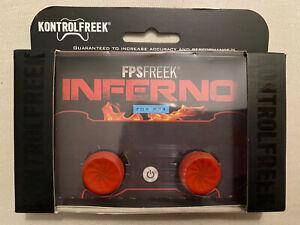 KontrolFreek FPS Freek Inferno for Playstation 4 Controller - Red