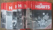 Heart of Midlothian Home Teams F-K Football Friendly & Pre-Season Fixture ProgrammesMemorabilia