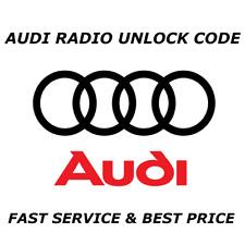 Audi Radio Pin Unlock Code Service RNS-E plus + Symphony Concert 2 Chorus-schnell