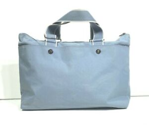 Vintage LACOSTE Gym Sports Duffle HOLDALL Bag New City Casual -12- Jeans Blue