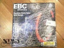 EBC Brakes Precision Brake Rotor Solid Design, MD1008, Honda , Two Brake Discs