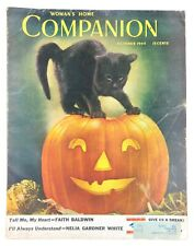 Woman's Home Companion Magazine October 1944 Halloween Issue Great Old Ads!!