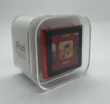 Apple Ipod Nano 6th 6. Generación Product Rojo 16GB Nuevo Sealed Lacrado