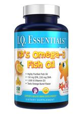 Purity Products I.Q. Essentials Kid's Omega-3 Fish Oil plus Vitamin D3