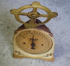 Antica piccolo bilancia da tavolo tipo pesa lettera o pacco déco vintage atelier