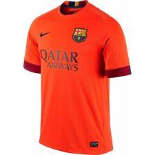 90 Nike FC Barcelona  14 Away Authentic Stadium Jersey Orange 610595 672  ... 556441909