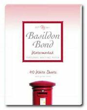 Basildon Bond Writing Paper - 40 Sheets, White