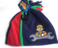 Bob the Builder Beanie Boys Toddlers Soft Knit Winter Cap Hat Baby 2-4y Child