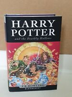 HARRY POTTER & the Deathly Hallows UK FIRST EDITION 1ST PRINT BOOK Bloomsbury