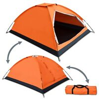 Portable Backpacking Tent 2-3 Person Family Camping Hiking Traveling w Carry Bag