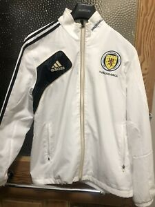 "Scotland Adidas Football Jacket. 38-40""."