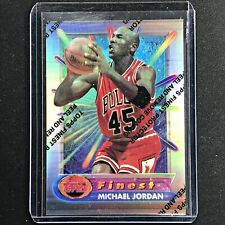 1994-95 Topps Finest MICHAEL JORDAN Silver Refractor #331 - Coating On (A)
