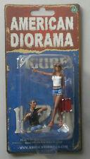 "Hitchhiker Man & Woman Set AMERICAN DIORAMA 1:24 Scale 3"" Figure"