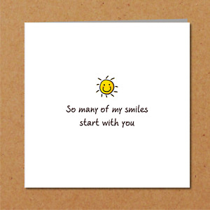 Romantic Card - Birthday Card - Best Friend Girlfriend Boyfriend Wife Husband