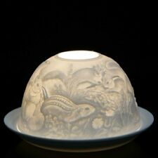 Nordic Lights - DOME LIGHT TEALIGHT CANDLE SHADE & TRAY - Squirrel