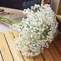 7 Kopf Gypsophila Kunstblume Künstliche Blume Blumenstrauß B5D2 Dek Plastik G2Z5