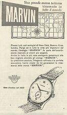 W6604 Orologio Marvin - Pubblicità 1949 - Advertising