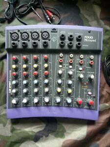 Spirit By Soundcraft/Mischpult/Mixer/Sound/Dj/Party/Folio Notepad Lila