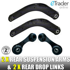 VAUXHALL VECTRA C REAR 2 SUSPENSION ARMS INC BUSHES & STABILISER DROP LINKS LINK