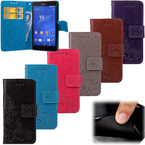 Flip Embossed Patterned PU Leather Wallet Card S lot Stand Case Cover Bumper SYC