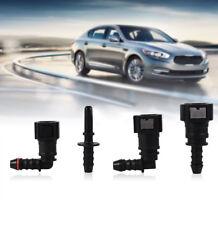 4 Kinds Car Black Fuel Line Quick Release Connect Connector Hose Coupler Nylon