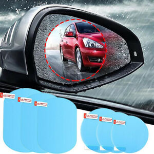 2PCS Car Rear view Wing Mirror Film Rainproof Anti-Fog Hydrophobic Sticker